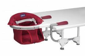 Chicco seggiolino da tavolo con seduta girevole a 360 gradi rosso - Seggiolino da tavolo chicco ...