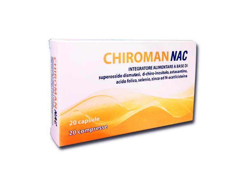 CHIROMAN NAC 20 COMPRESSE + 20 CAPSULE