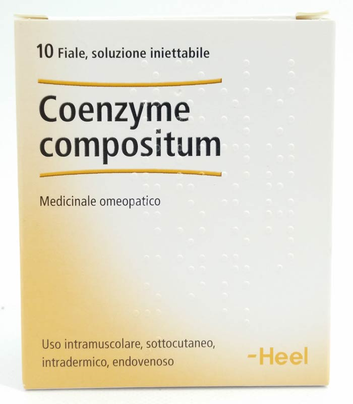 COENZYME COMPOSITUM HEEL 10 FIALE