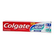 COLGATE DENTIFRICIO TRIPLE ACTION 2x75 ML