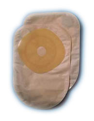 COLODRESS PLUS OPACO - SACCA PER COLOSTOMIA 19-64 MM - 30 PEZZI