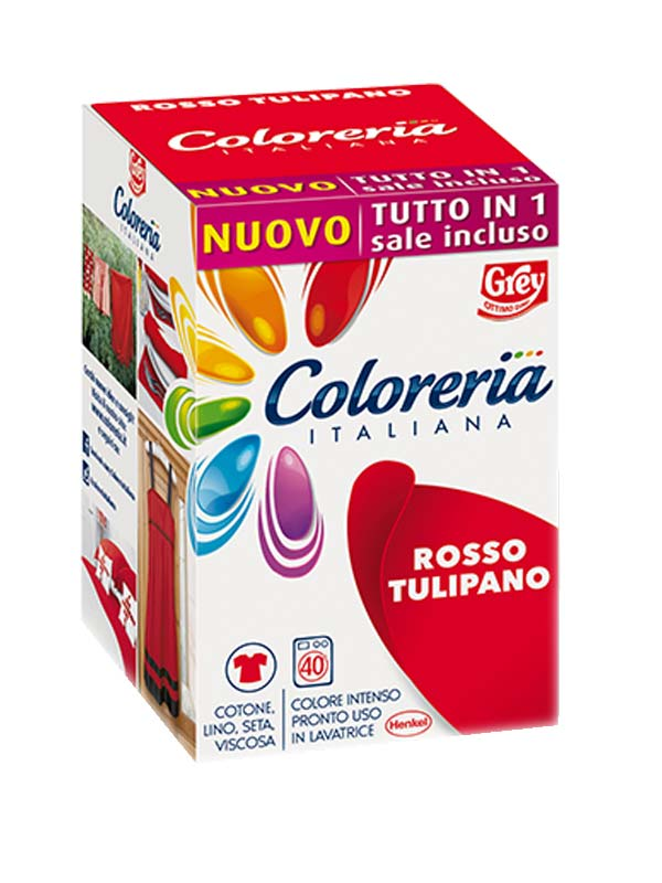 COLORERIA ITALIANA ROSSO TULIPANO 350 G