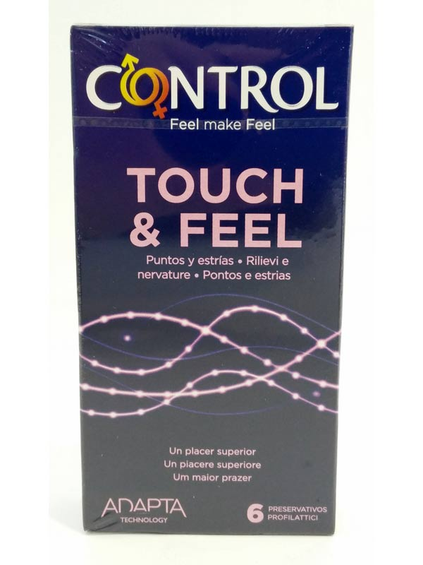 CONTROL TOUCH AND FEEL 6 PROFILATTICI