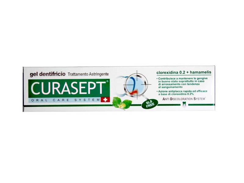 CURASEPT DENTIFRICIO ADS 0,20 CON HAMAMELIS TRATTAMENTO ASTRINGENTE - 75 ML