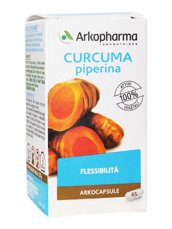 CURCUMA PIPERINA ARKOCAPSULE 45 CAPSULE