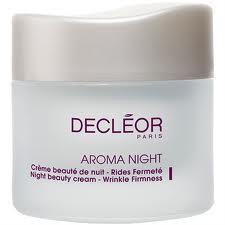 DECLEOR AROMA NIGHT - CREME BEAUTE' DE NUIT RIDES FERMETE' - 50 ML