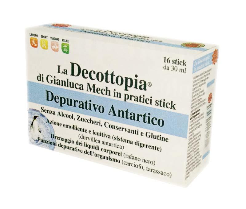 DECOPOCKET DEPURATIVO ANTARTICO 16 STICK DA 30 ML