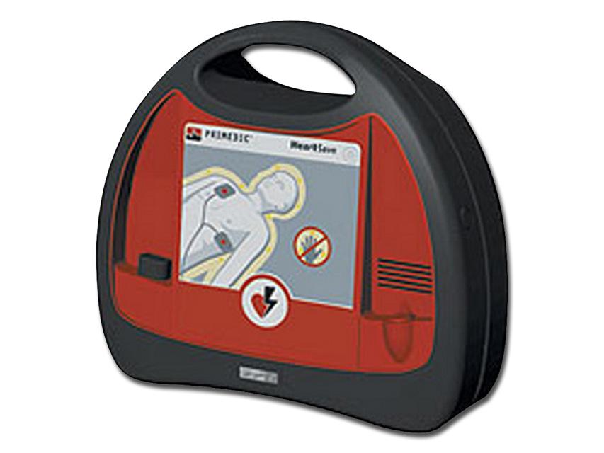 DEFIBRILLATORE HEART SAVE AED - EN, IT, ES