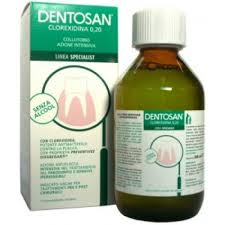 DENTOSAN CLOREXIDINA 0,20 COLLUTTORIO AZIONE INTENSIVA 200 ML