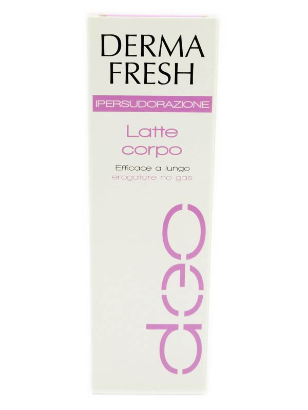 DERMAFRESH IPERSUDORAZIONE LATTE CORPO 100 ML