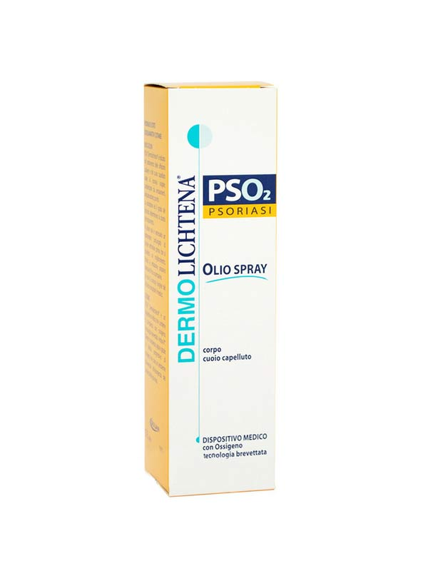DERMOLICHTENA PSO2 PSORIASI OLIO SPRAY 100 ML