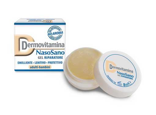 DERMOVITAMINA NASOSANO GEL RIPARATORE - 8 ML