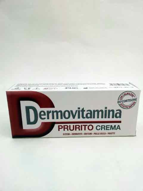 DERMOVITAMINA PRURITO CREMA - 30 ML