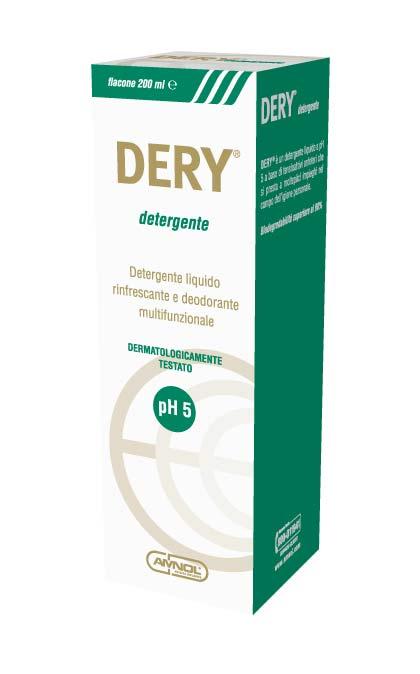 DERY DETERGENTE LIQUIDO PER L'IGIENE PERSONALE - 200 ML