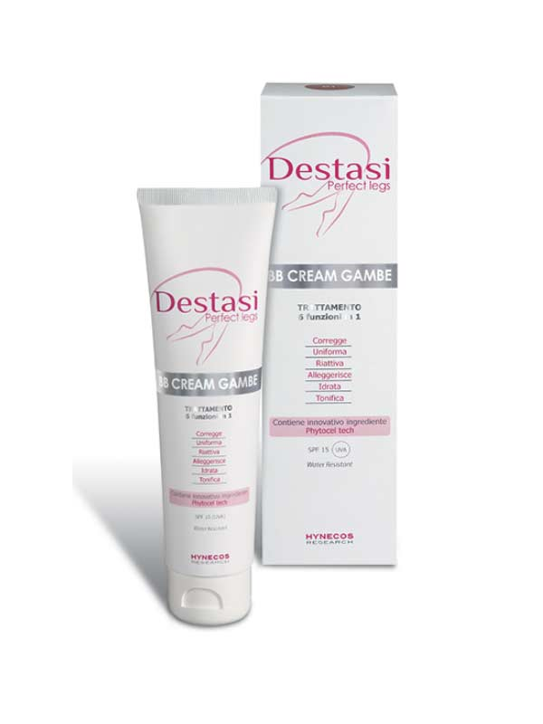 DESTASI PERFECT LEGS - BB CREAM GAMBE 02 - SPF 15 - 100 ML