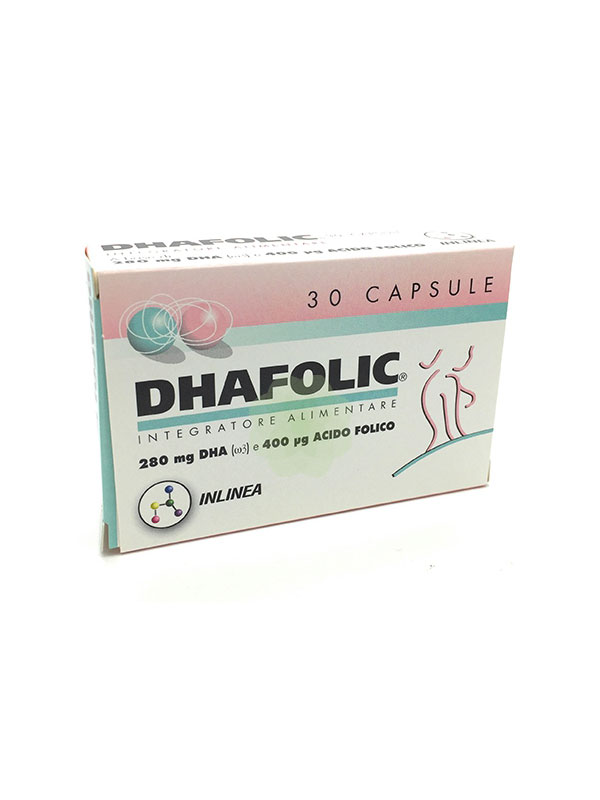 DHAFOLIC PLUS 30 CAPSULE DA 450 MG