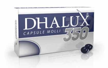 DHALUX 350 INTEGRATORE UTILE PER LA VISTA - 30 CAPSULE MOLLI
