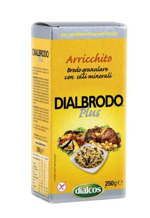 DIALBRODO PLUS SENZA GLUTINE - 250 G