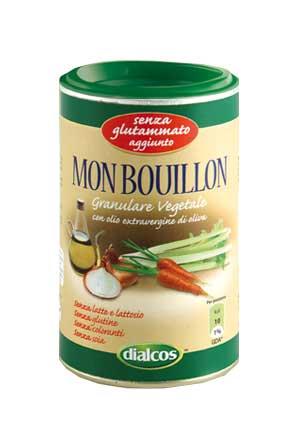 DIALCOS MON BOUILLON PREPARATO PER BRODO SENZA GLUTINE E SENZA GLUTAMMATO AGGIUNTO - 200 G