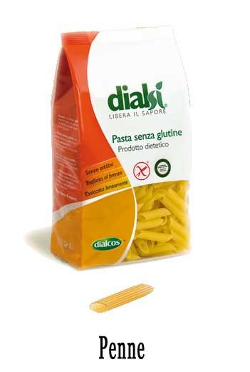 DIALSI PASTA SENZA GLUTINE - PENNE - 500 G