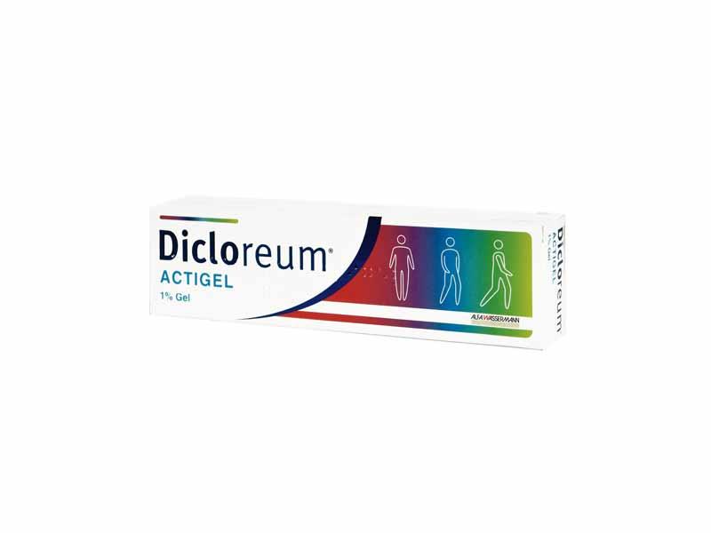 DICLOREUM ACTIGEL 1% GEL 50 G