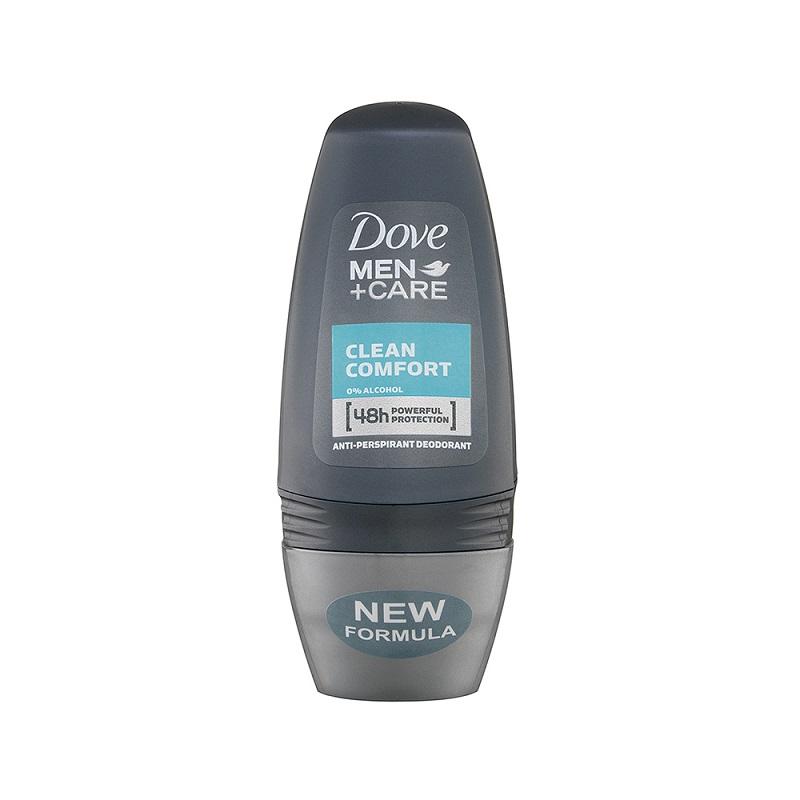 DOVE DEO ROLL ON MEN CLEAN COMFORT - 50 ML