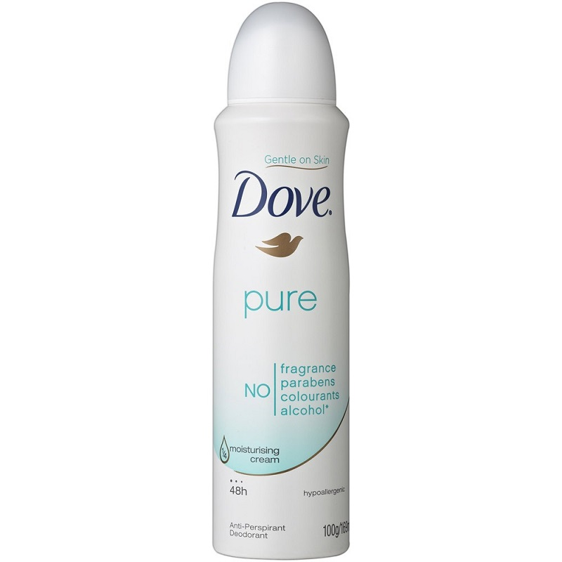 DOVE DEODORANTE SPRAY PURE - 150 ML