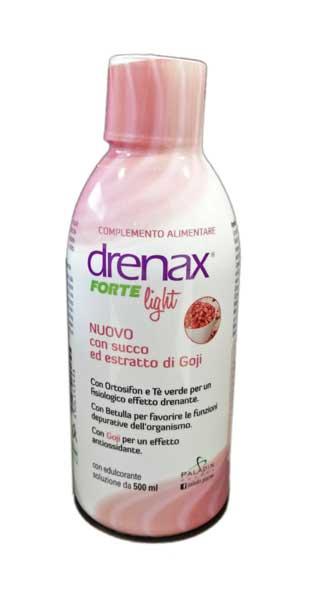 DRENAX FORTE LIGHT SOLUZIONE CON SUCCO ED ESTRATTO DI GOJI - 500 ML