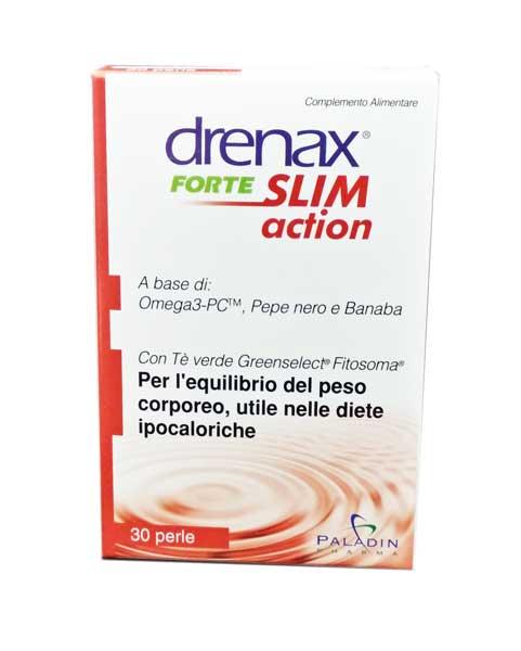 DRENAX FORTE SLIM ACTION COMPLEMENTO ALIMENTARE A BASE DI OMEGA 3 - 30 PERLE