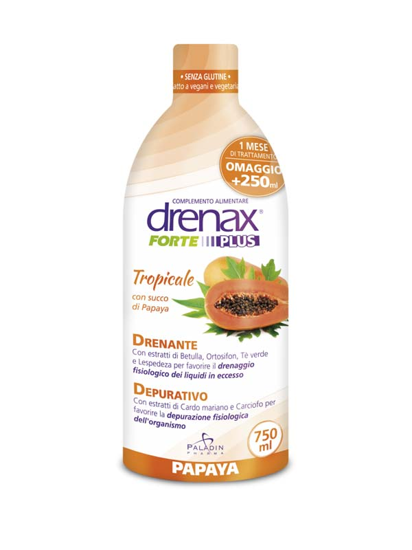 DRENAX PAPAYA PLUS 750 ML