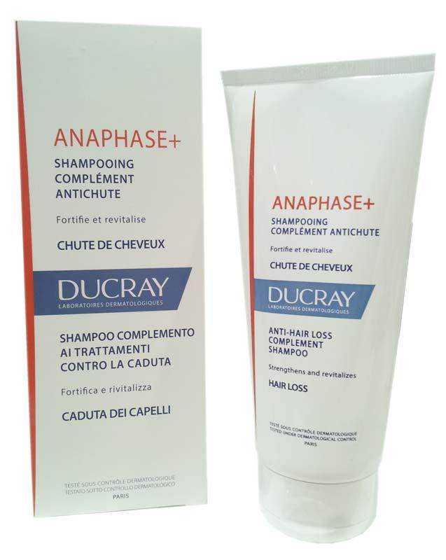 ducray anaphase shampoo complemento anticaduta 200 ml. Black Bedroom Furniture Sets. Home Design Ideas