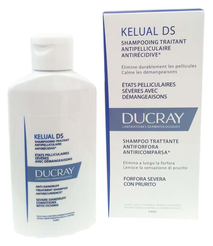 DUCRAY KELUAL DS SHAMPOO TRATTANTE ANTIFORFORA ANTIRICOMPARSA 100 ML