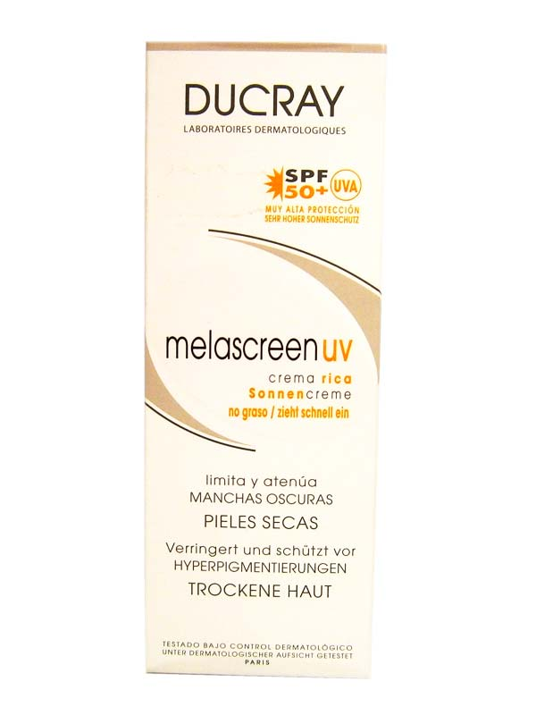 DUCRAY MELASCREEN UV CREMA RICCA SPF 50+ 40 ML