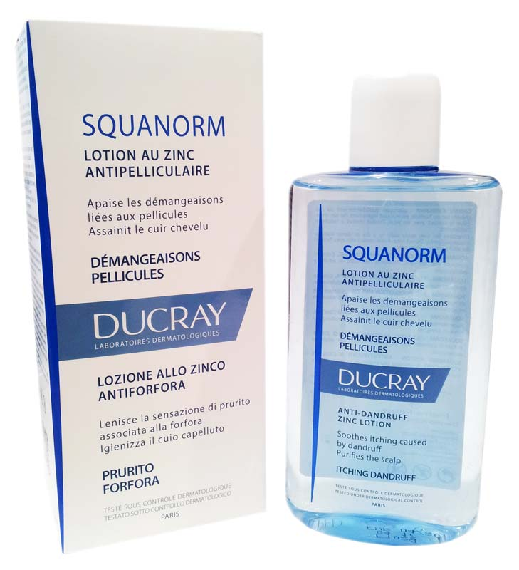 DUCRAY SQUANORM LOZIONE ANTIFORFORA 200 ML