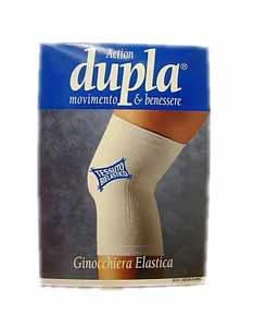 DUPLA ACTION GINOCCHIERA ELASTICA COLORE BLUETTE - TAGLIA XL DA 45 A 49 CM