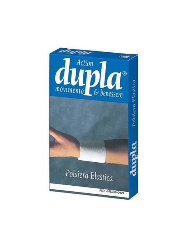 DUPLA ACTION POLSIERA ELASTICA COLORE BIANCO TAGLIA M