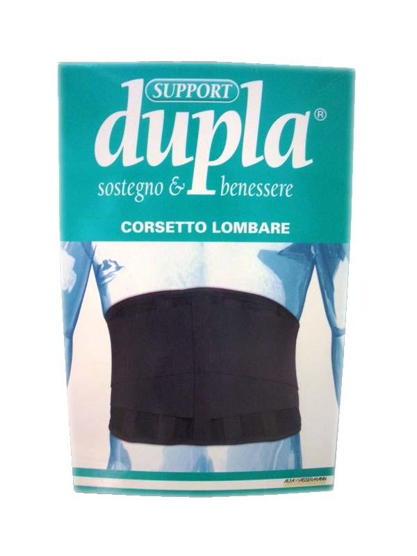 DUPLA SUPPORT CORSETTO LOMBARE TAGLIA 2
