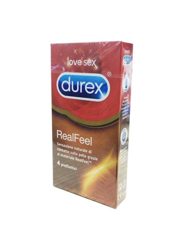 DUREX REAL FEEL 4 PROFILATTICI
