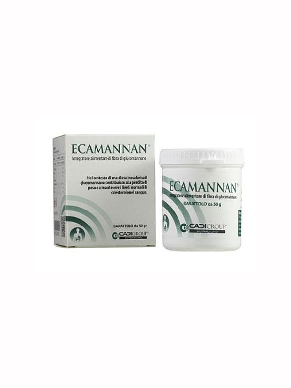 ECAMANNAN POLVERE INTEGRATORE ALIMENTARE 50 G