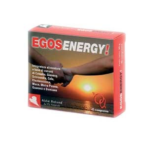 EGOS ENERGY INTEGRATORE ALIMENTARE ENERGETICO E TONIFICANTE - 45 COMPRESSE