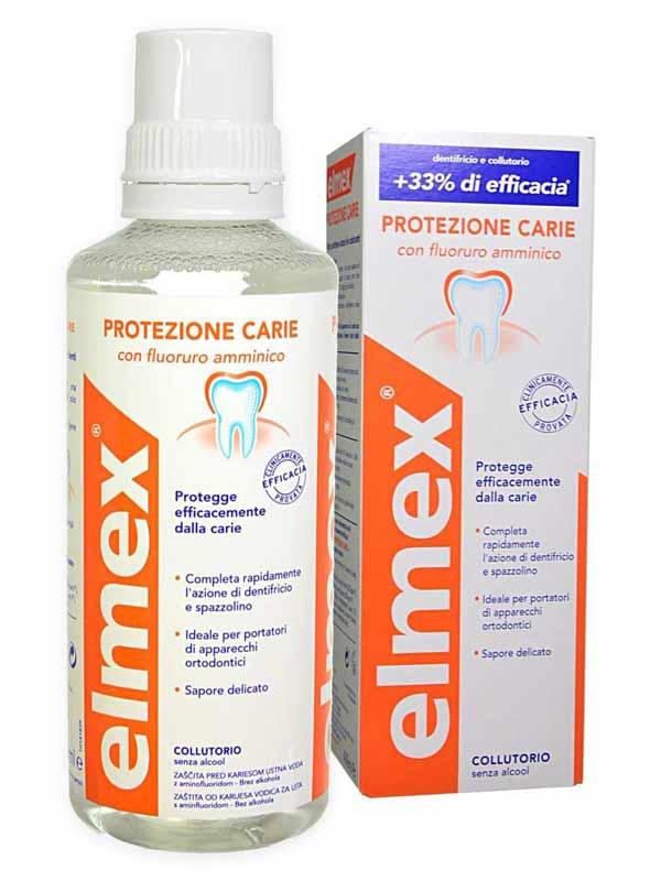 ELMEX® COLLUTORIO PROTEZIONE CARIE 400 ML