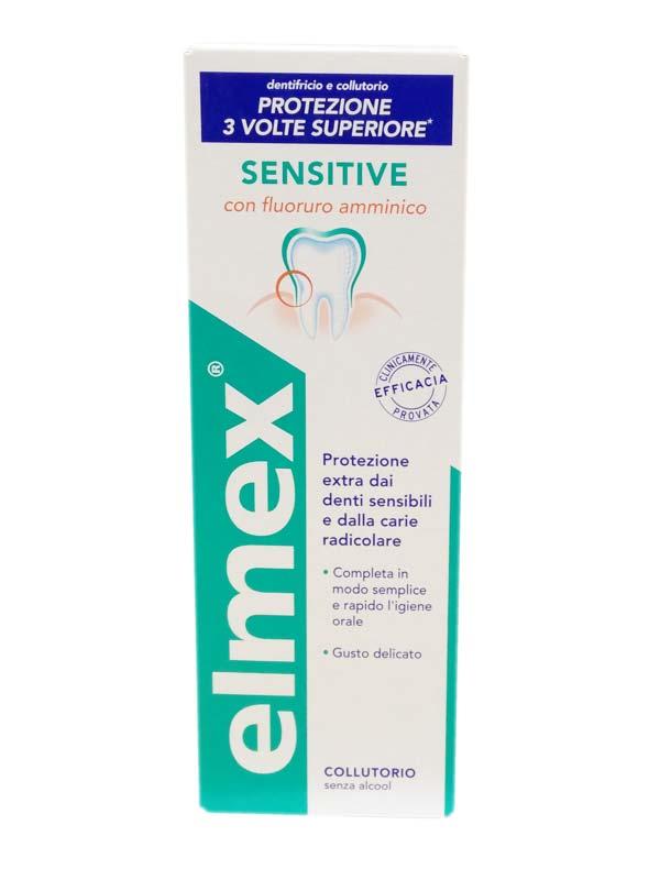 ELMEX® COLLUTORIO SENSITIVE 400 ML