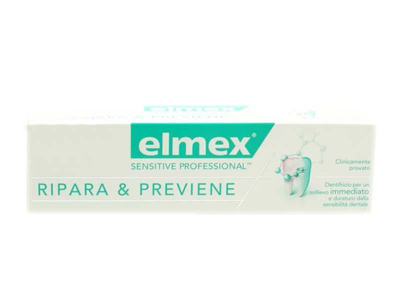 ELMEX DENTIFRICIO SENSITIVE PROFESSIONAL RIPARA E PREVIENE 75 ML