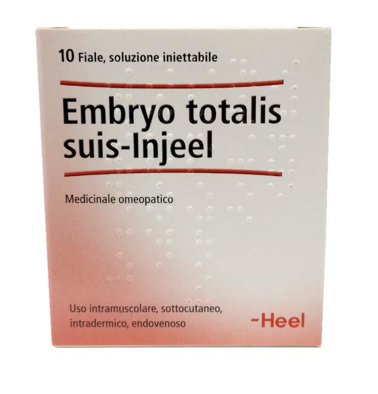 EMBRYO TOTALIS SUIS INJEEL 10 FIALE