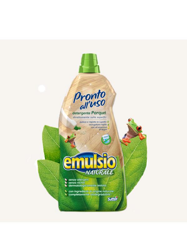 EMULSIO PRONTO ALL'USO DETERGENTE PARQUET 1000 ML