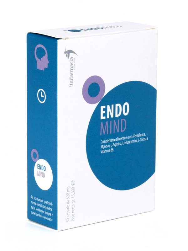 ENDO MIND 30 CAPSULE DA 520 MG