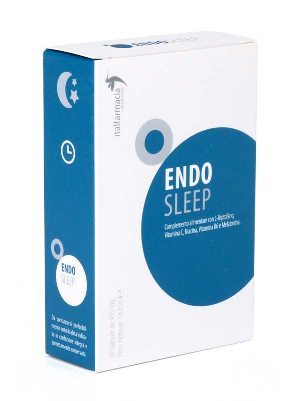 ENDO SLEEP 30 CAPSULE DA 495 MG