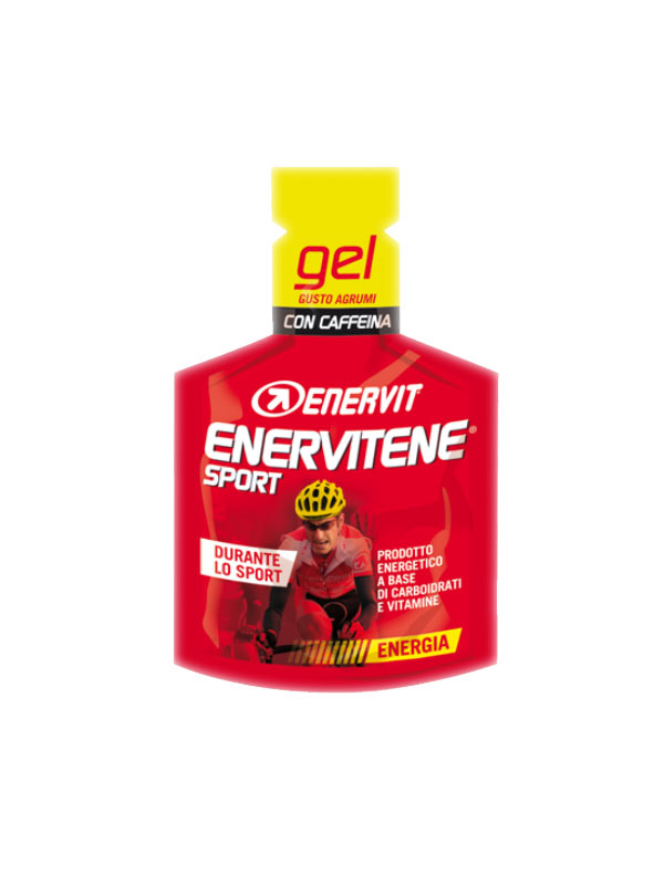 ENERVIT® ENERVITENE SPORT GEL GUSTO AGRUMI CON CAFFEINA - 25 ML