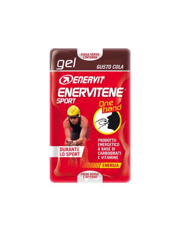 ENERVIT ENERVITENE SPORT GEL ONE HAND GUSTO COLA - 2 MINIPACK DA 12,5 ML