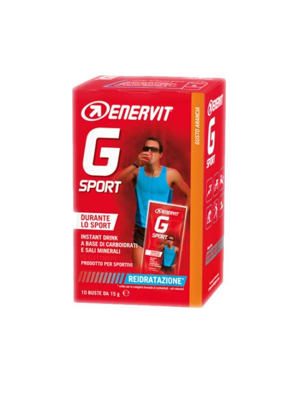 ENERVIT G SPORT GUSTO ARANCIA 10 BUSTE DA 15 G